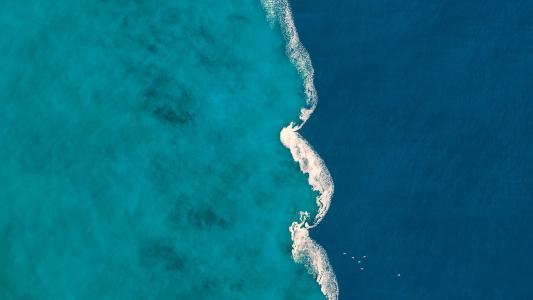 淡水,咸水,海岸,4K