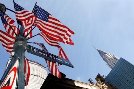 国旗日,美国,事件,街道(水平)