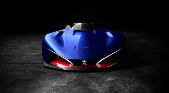 标致,L500 R混合动力,概念车,4K