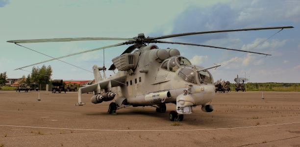 米-24,米尔,后,攻击直升机,鳄鱼,飞行坦克,俄罗斯空军(水平)