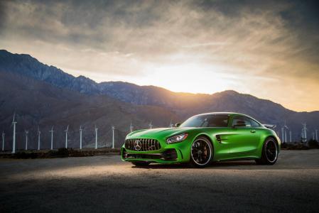 梅赛德斯-AMG GT R,2018年,4K