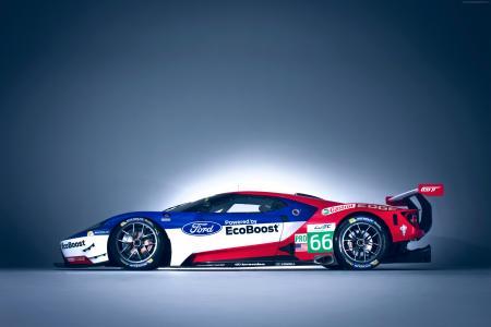 福特GT赛车,勒芒24小时(横向)