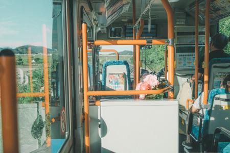 日式公车的午后惬意时光
