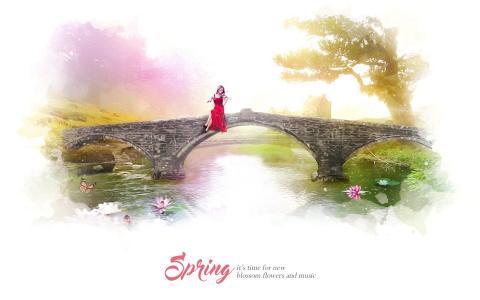 春天开花开花音乐