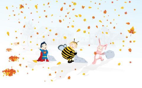秋季万圣节十月