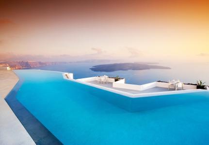 恩典圣托里尼,精品酒店,豪华酒店,私人游泳池,希腊
