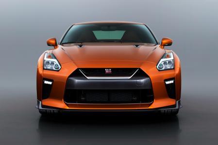 日产GT R,NYIAS 2016,超级跑车,橙色(水平)