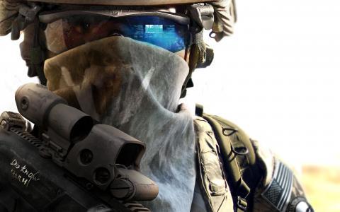 幽灵侦察未来士兵