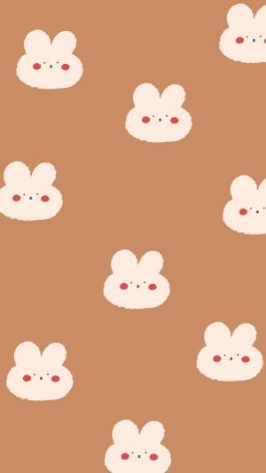 简约可爱小兔子