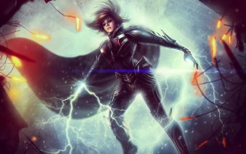 Kyla DC宇宙在网上