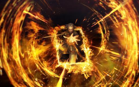 Geralt Gwent巫师纸牌比赛4K 8K