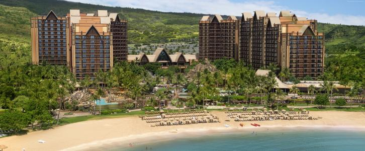 Disney Resort & Spa, Aulani, Best Hotels of 2017, The best hotel pools 2017, tourism, trav